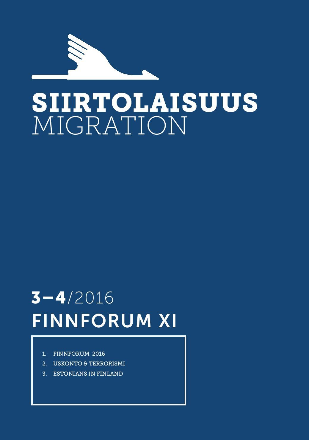 Näytä Vol 42 Nro 3-4 (2016): FinnForum XI