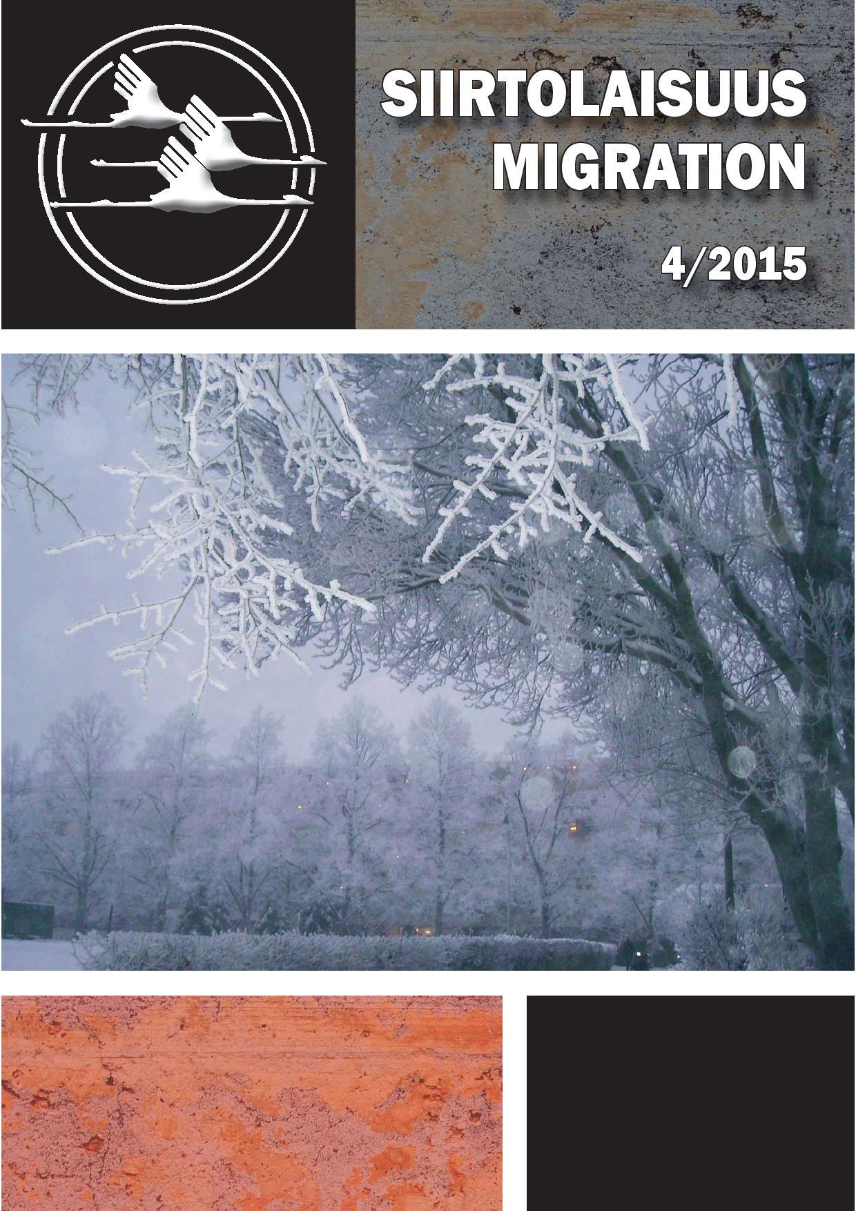 Näytä Vol 42 Nro 4 (2015)